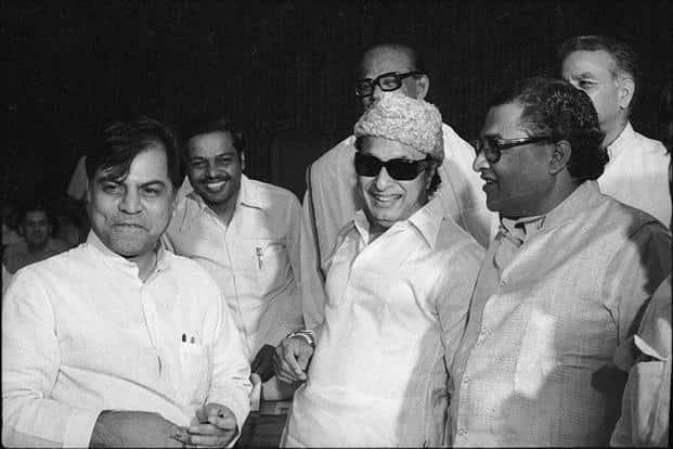 MGR led the ADMK with an iron fist in velvet gloves, without any ideological content, and converted the party into a fan club with his charisma and influence among masses. Photo: HT