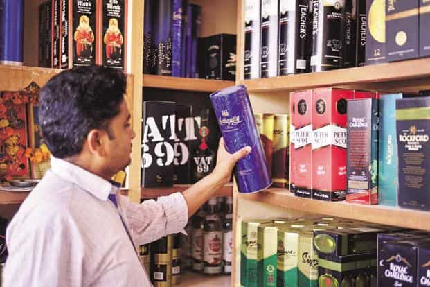 During the quarter, United Spirits's finance cost stood at Rs92.23 crore as against Rs107.66 crore earlier. Photo: Pradeep Gaur/Mint