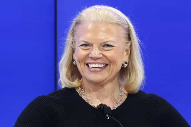 IBM chief executive officer (CEO) Ginni Rometty. Photo: Reuters