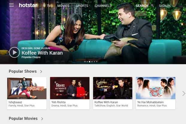 Hotstar top video streaming app in India: report