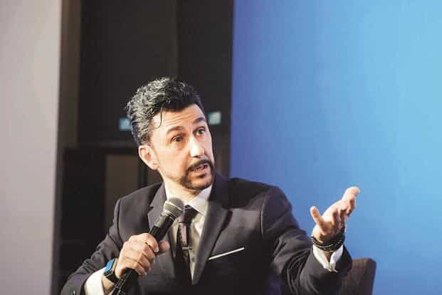 Bibop Gresta, chairman and co-founder of Hyperloop Transportation Technologies, has proposed linking Mumbai and Pune with the company's ultra-high speed transport system. Photo: AFP