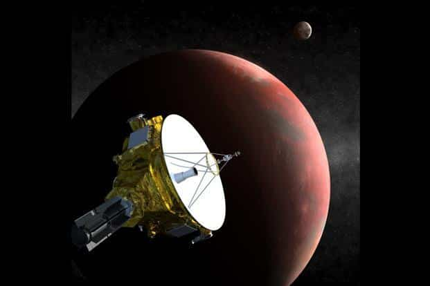 A file photo of New Horizons spacecraft launched by Nasa to unravel the secrets of Pluto. Photo: AFP/Nasa/Johns Hopkins University
