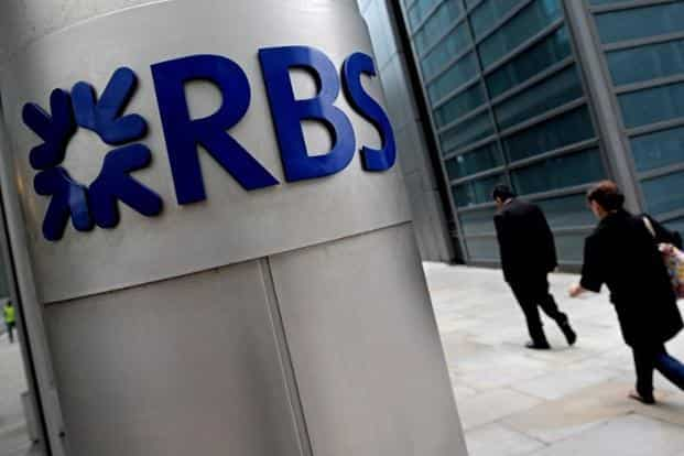 RBS is among the final global lenders yet to settle in a years-long probe that's garnered more than $50 billion in penalties for the DOJ since it began investigating the pre-crisis sale of mortgage bonds. Photo: AFP