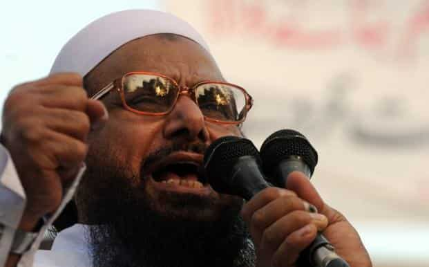 Hafiz Saeed, the mastermind of the 2008 Mumbai terror attacks, was placed under a 90-day house arrest which the Pakistan government on Tuesday indicated could be extended. Photo: AFP