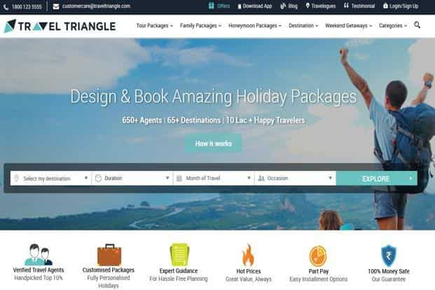 TravelTriangle operates from offices in Noida, Gurgaon, Mumbai and the US.