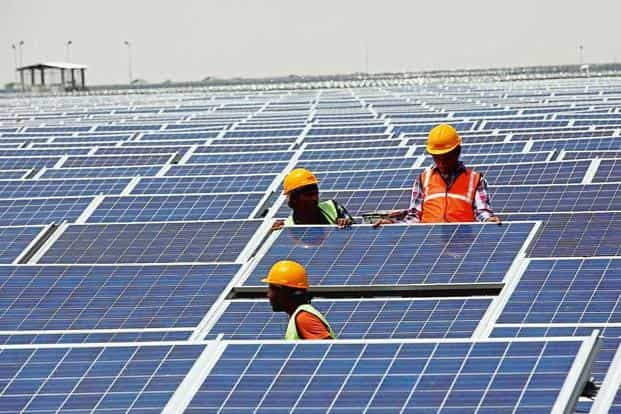 Twenty leading firms, including Italy's Enel Green Power SpA, SoftBank-promoted SBG Cleantech Ltd, Canadian Solar Energy Holding, Singapore3 Pte Ltd and Green Infra Wind Power Project Ltd, promoted by Sembcorp Industries Ltd, are in the fray.