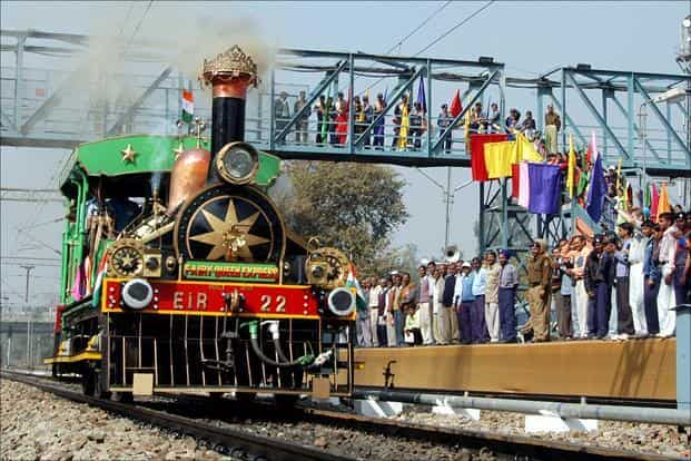 162-year-old Fairy Queen train to grace railway tracks again