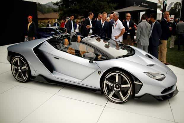 Lamborghini has also lined up two more product launches for this year, including the new Avendator. Photo: Reuters