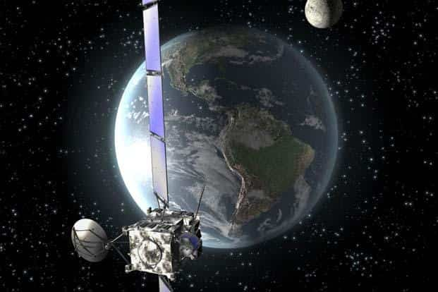 The Global Positioning System, or GPS, uses passive range-finding technology to pinpoint your exact position on the globe by calculating the time it takes for a pulse from its satellites to reach your receiver. Photo: AFP