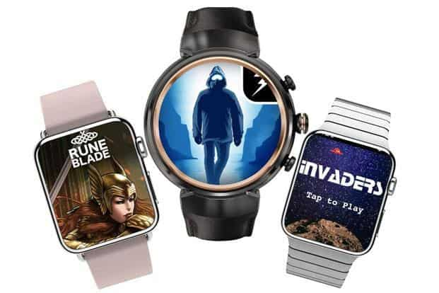 Smartwatch on, game on