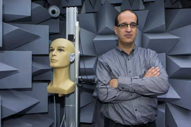 Noveto Systems CEO Tomer Shani. Noveto recently pitched its 3D audio system to Mercedes-Benz for a a potential supply deal. Photo: Bloomberg