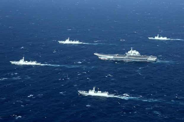Beijing, which claims almost all the South China Sea, has regularly flown military jets over the waters and recently sailed its first aircraft carrier around Taiwan in what it called routine drills. Photo: Reuters