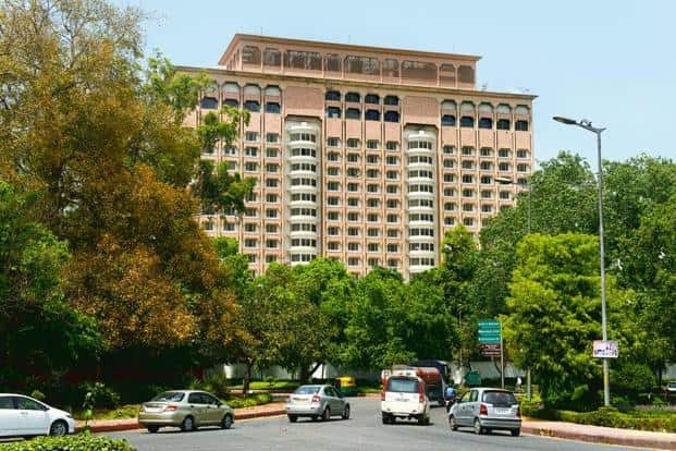 Hotel Taj Mansingh, owned by the New Delhi Municipal Corporation, was given to Tata's Indian Hotels on lease for 33 years. Photo: Ramesh Pathania/Mint