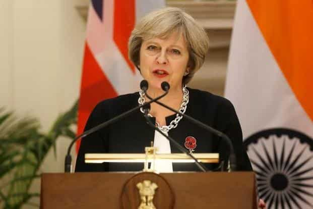The India-UK Financial Partnership delegation accompanying UK PM Theresa May presented a paper on the approach India can take to develop its own stewardship code to finance minister Arun Jaitley in December. Photo: Reuters