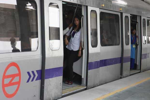 Unsafe and uncomfortable public transportation systems will compel women to use private modes of transport. Photo: Hindustan Times