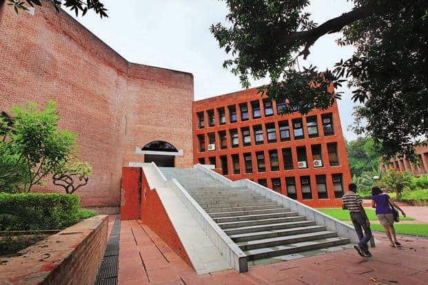 The IIM-A building was designed by Kahn with the brick structure reflecting a blend of modernity and tradition. It was completed in 1974. Photo: Hindustan Times