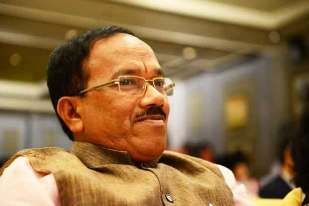 Goa chief minister Laxmikant Parsekar also lost his sitting seat Mandrem in the Assembly polls. Photo: Pradeep Gaur/Mint