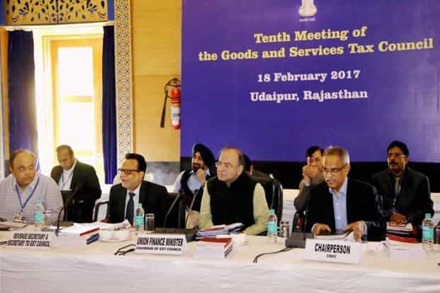 The GST council, headed by finance minister Arun Jaitley, will meet on Thursday to discuss supplementary legislations needed for GST implementation. Photo: PTI