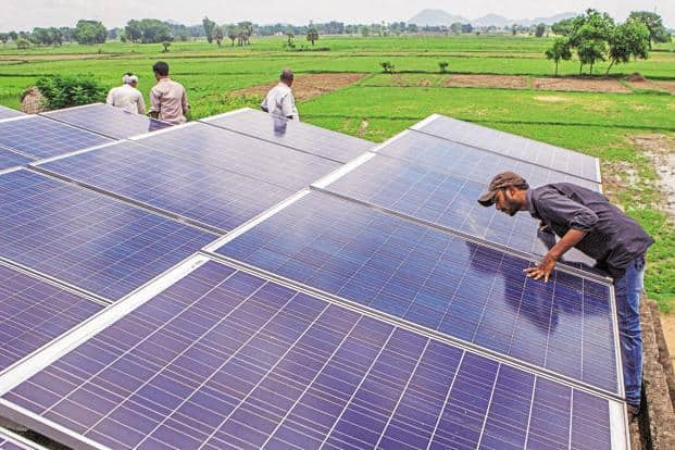India's demand for renewable energy is expected to grow seven times by 2035, according to the latest edition of BP Energy Outlook. Photo: Bloomberg