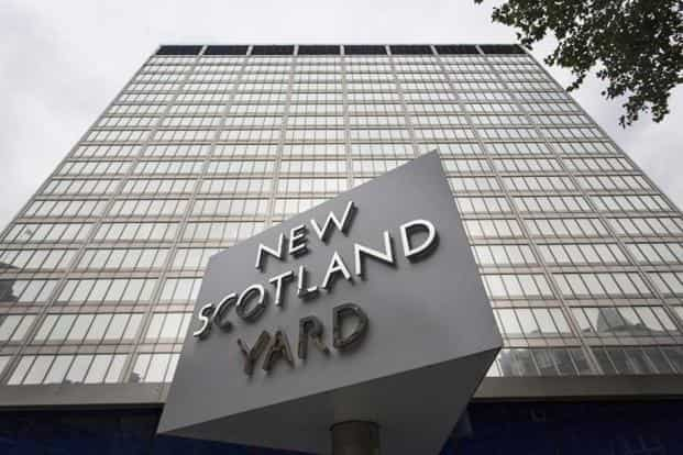 A letter believed to be from a whistleblower alleges that a secretive unit at the Scotland Yard used contacts in the Indian police to obtain passwords and monitored targets for several years. Photo: AFP