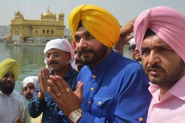 Navjot Singh Sidhu said that those raising objections should know that politics is his passion but not his profession. Photo: AFP