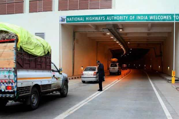The Rs2,519-crore all-weather Chenani-Nashri Tunnel is equipped with world-class safety features: fully-integrated tunnel control system with ventilation, communication, power supply, incident detection, SOS call box and fire fighting. Photo: PTI
