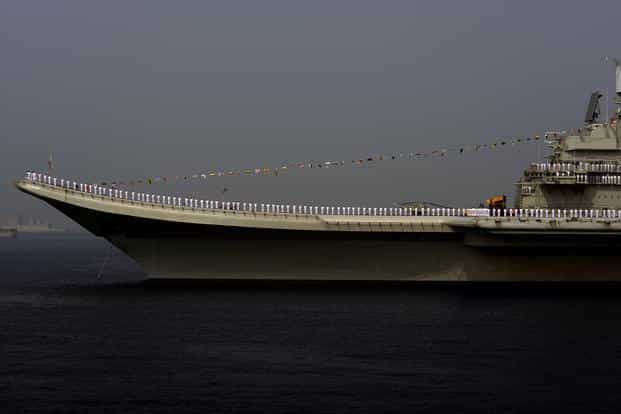 Navies regard aircraft carriers—not battleships— as the core of their war-fighting plans. Photo: Abhijit Bhatlekar/Mint