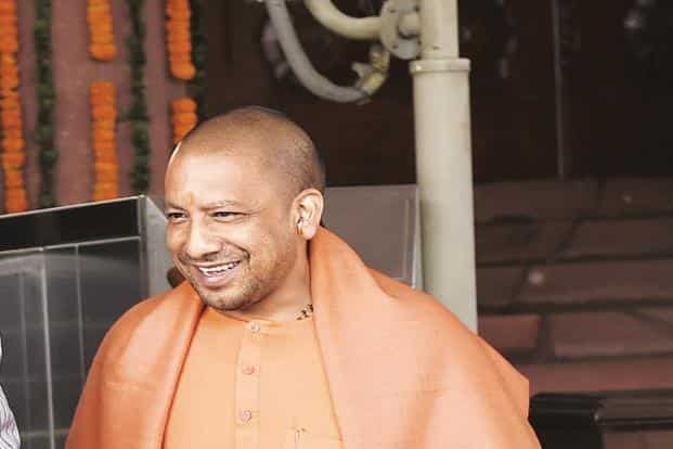 Apparently Yogi Adityanath was incensed by betel nut juice stains on the wall and immediately ordered a ban on chewing of tobacco products. Photo: HT