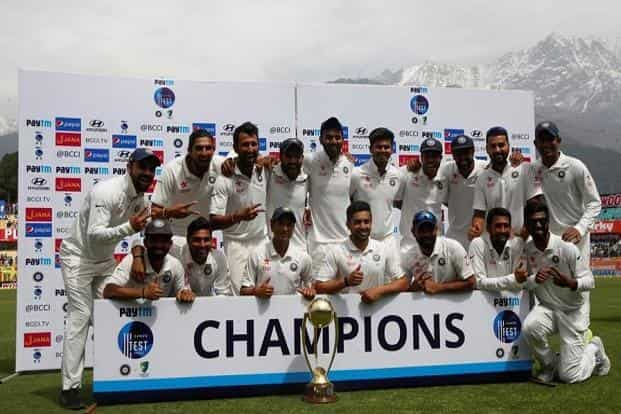 India beat Australia by eight wickets in the fourth and final test to seal a 2-1 series victory at the Himachal Pradesh Cricket Association Stadium in Dharamsala on Tuesday. Reuters
