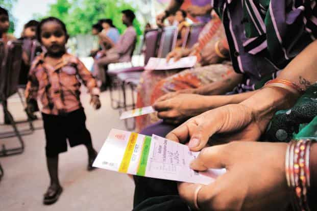 """In a complaint given by the Unique Identification Authority of India (UIDAI) to the Delhi Crime Branch, it has been alleged that """"a single person with the same parameters of biometric information has got himself enrolled under two different identitiess. Photo: Priyanka Parashar/Mint"""