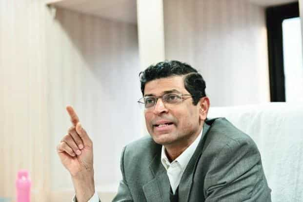 A file photo of Insolvency and Bankruptcy Board of India's chairperson M.S. Sahoo. Photo: Mint