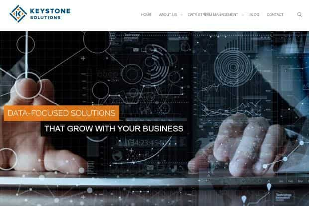 US-based Keystone Solutions offers solutions to digitally manage orders and warehousing for large retail firms.