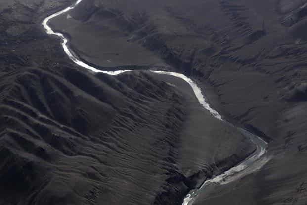 The project involves diversion of 7.60 hectares of forest land from the Changthang Cold Desert Wildlife Sanctuary in Ladakh region of Jammu and Kashmir. Photo: AFP