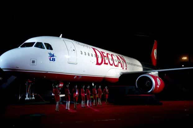 Air Deccan used to  offer cheap fares starting Re1 (excluding taxes and surcharges) often angering its rivals. Photo: AFP