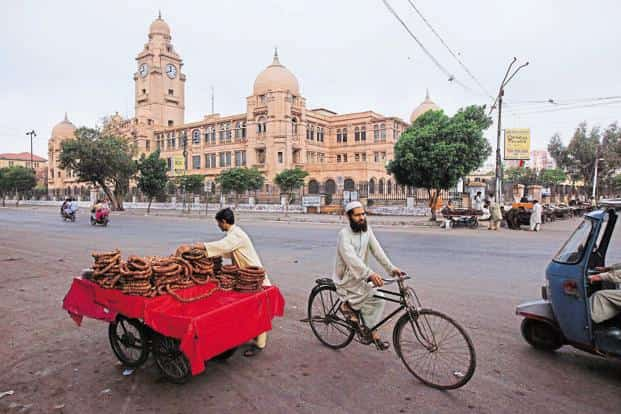 A transit point for everything from opium and arms to cotton and rice, Karachi is the financial heart of Pakistan—it pays more than 65% of the country's tax and has an economy worth $68 billion. Photo: Reuters
