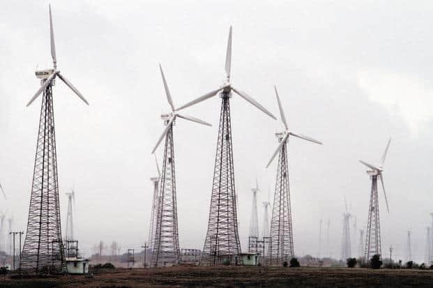 During 2016-17, leading states in wind power capacity addition were Andhra Pradesh, Gujarat and Karnataka. Photo: Bloomberg