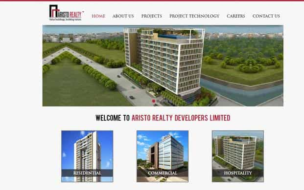 Mumbai-based Aristo Realty has completed 1.3 million sq. ft. of development of residential and commercial projects and has ongoing projects of over 1 million sq. ft.