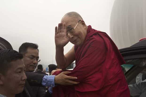 The Indian government statement came as the Dalai Lama is expected to reach Arunachal Pradesh on Tuesday.Photo: AP