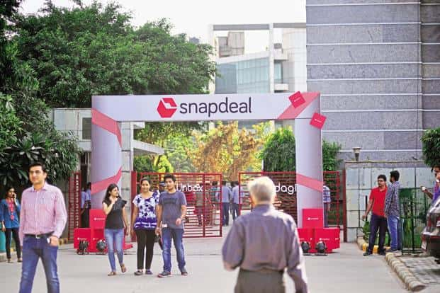 At a board meeting of Jasper Infotech Pvt. Ltd, the company behind Snapdeal, on Tuesday, SoftBank showed interest in buying a part of the stake owned by Kalaari and Nexus. Photo: Pradeep Gaur/Mint