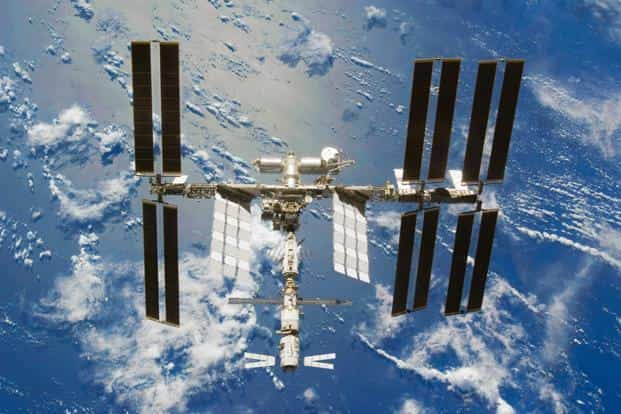 A file photo of International Space Station: Photo: AP