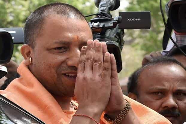 Uttar Pradesh CM Yogi Adityanath. The farm loan waiver scheme will cover small and marginal farmers with debts of up to Rs1 lakh and is expected to cost the state government Rs36,359 crore. Photo: PTI