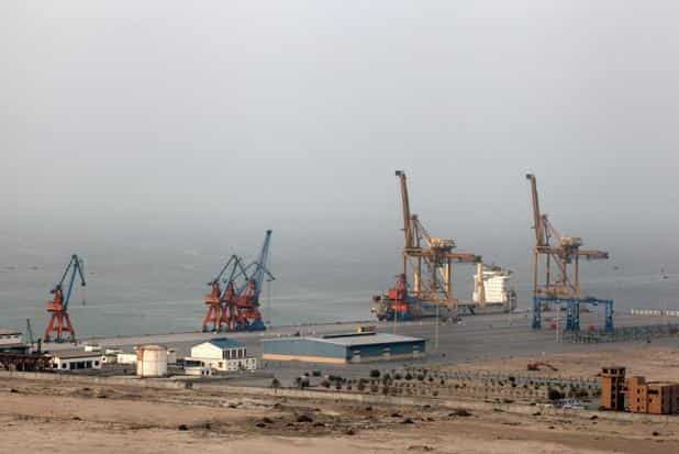 CPEC project will link the Pakistani city of Gwadar in Balochistan to China's Xinjiang via a vast network of highways and railways. Photo: Bloomberg