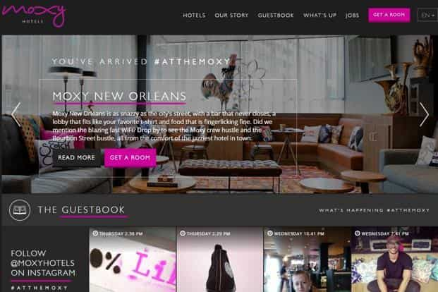 Launched in 2014, Moxy Hotels is a lifestyle hotel brand created by Marriott targeting  younger customers.