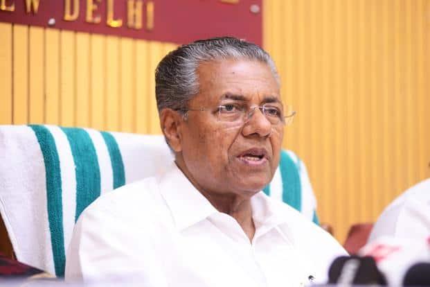 A file photo of Kerala's chief minister Pinarayi Vijayan. Photo:  Mint