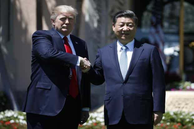 In return for dealing with North Korea effectively and decisively, Donald Trump has openly offered better trade deals with China. Photo: AP