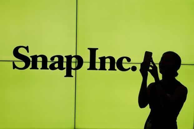 Shares of Snapchat have fallen 26% from their highest closing price following the public listing, and they remain up 17% from the company's $17 IPO price. Photo: Reuters