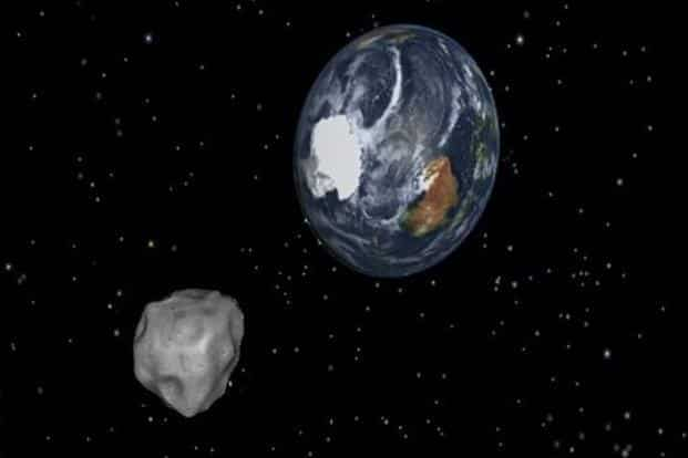 The approach of J025 to Earth will be the asteroid's closest for at least the next 500 years. Photo: AP