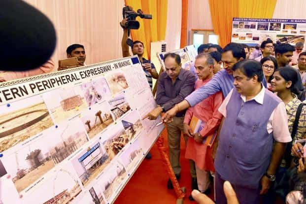 Nitin Gadkari said that there is huge potential in the NHAI projects and they can easily monetise their resources to invest in other projects. Photo: PTI