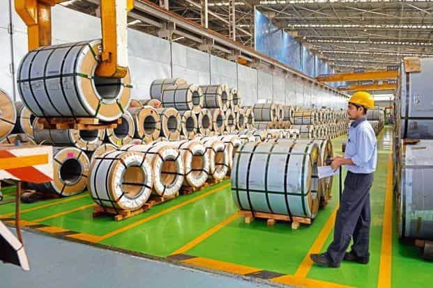 Cabinet has approved the National Steel Policy, which seeks to outline a roadmap to increase the country's annual steel production to 300 million tonnes by 2025. Photo: Abhijit Bhatlekar/Mint