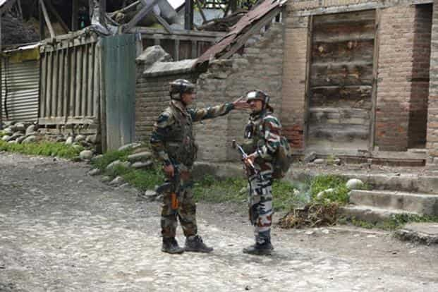 'Operation Clean Up' saw participation of army, Jammu and Kashmir police and CRPF personnel. Mukhtar Khan/AP